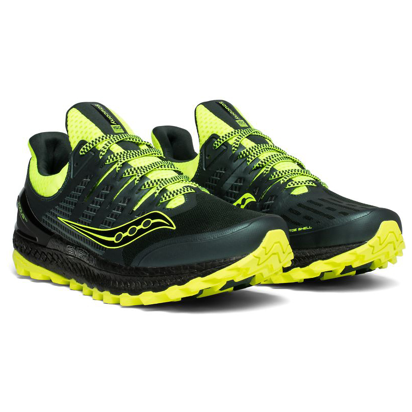 57624787 Saucony - Xodus Iso 3 - Trail running shoes - Green / Citron | 8,5 (US)