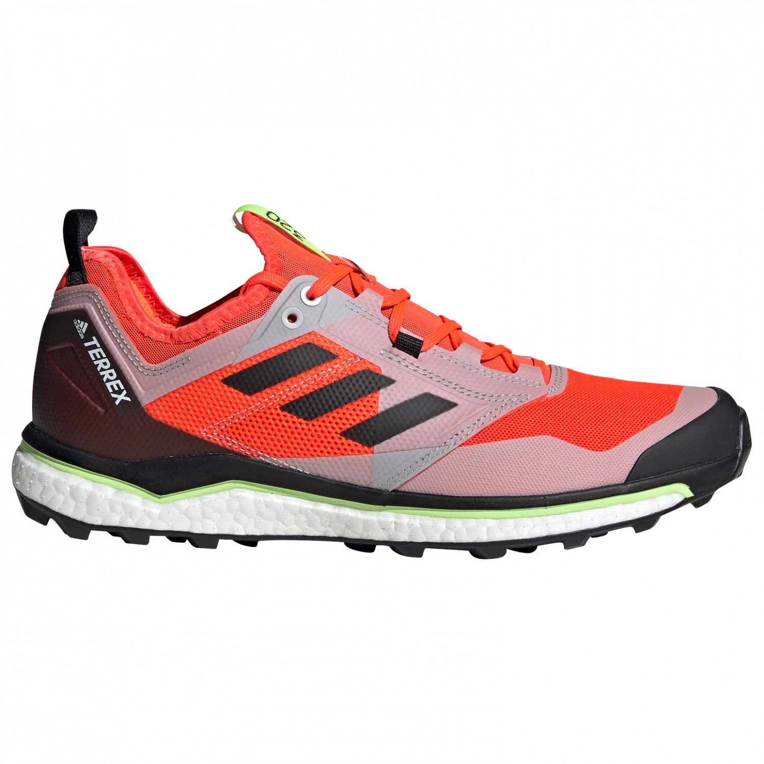 adidas Terrex Agravic XT Chaussures de trail Core Black Grey Five F17 Hi Res Red S18 | 8 (UK)