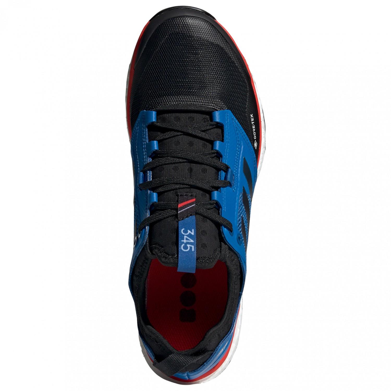 adidas Terrex Agravic XT GTX Chaussures de trail Core Black Grey Five Hi Res Red | 7 (UK)