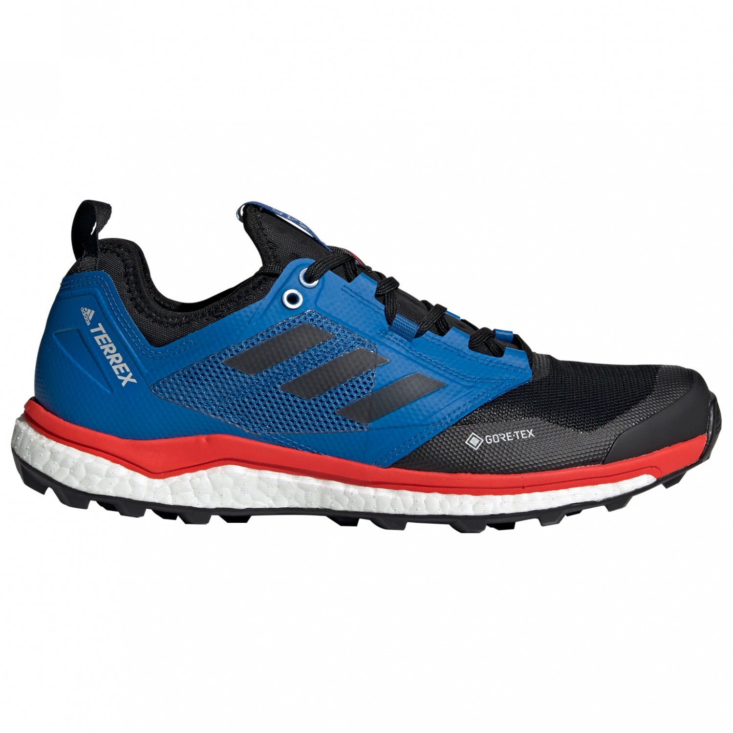 adidas - Terrex Agravic XT GTX - Trail running shoes - Core Black / Grey  Five / Hi Res Red | 7 (UK)