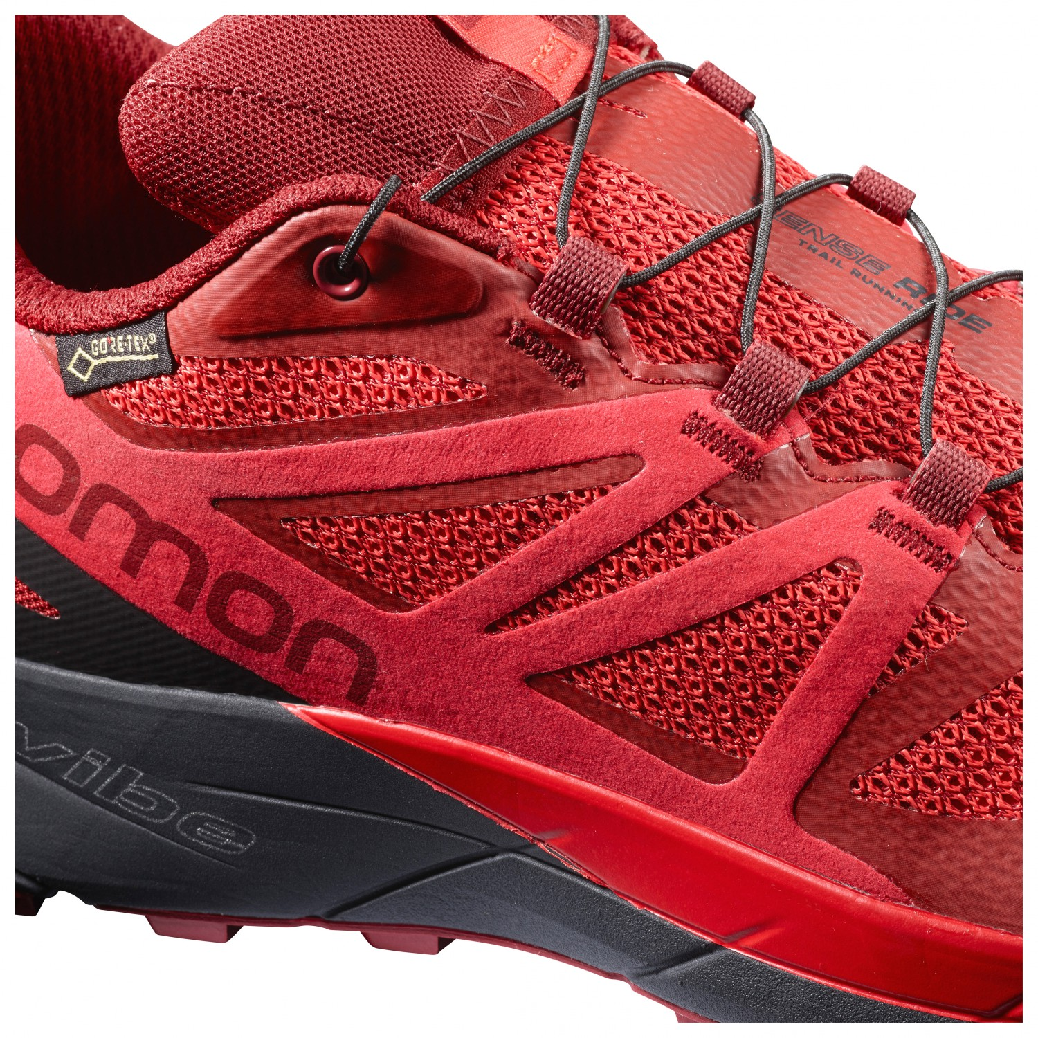 release date 8a526 f45d5 Salomon Chaussure Gtx Ride Invisible Homme Trail De Fit Sense XrBqX