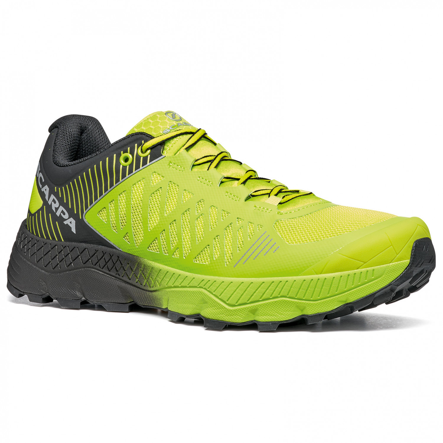 Scarpa Spin Ultra Scarpe per trail running Acid Lime Black | 41,5 (EU)