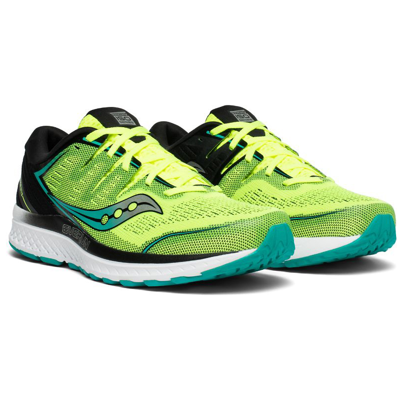 9e369e05 Saucony - Guide Iso 2 - Running shoes - Citron / Black | 8,5 (US)
