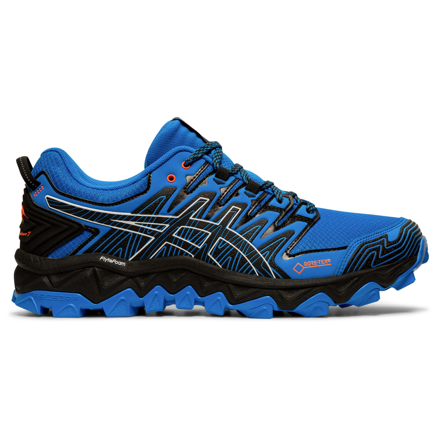 classic style of 2019 buy sale huge selection of Asics - Gel-FujiTrabuco 7 GTX - Trail running shoes - Black / Dark Grey | 8  (US)