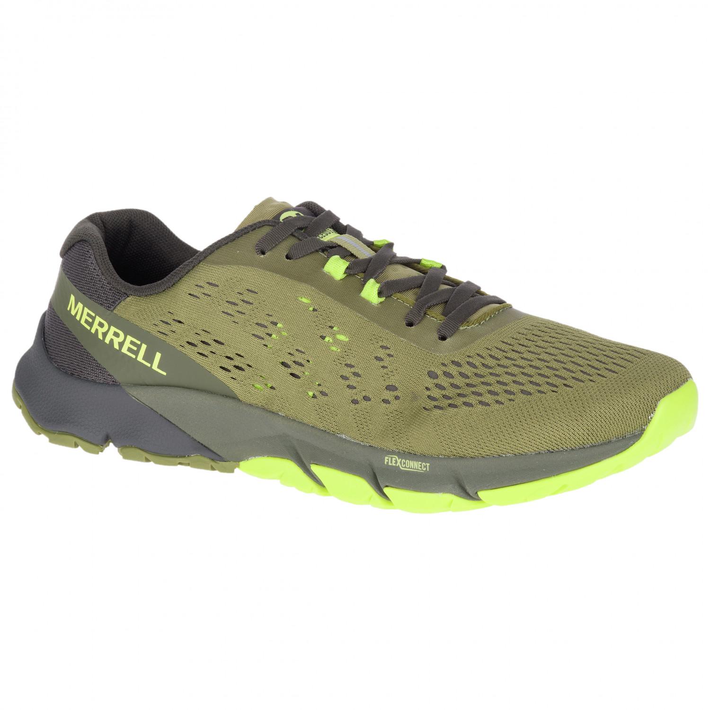 ebd8b15d Merrell - Bare Access Flex 2 E-Mesh - Trail running shoes - Olive   43,5  (EU)