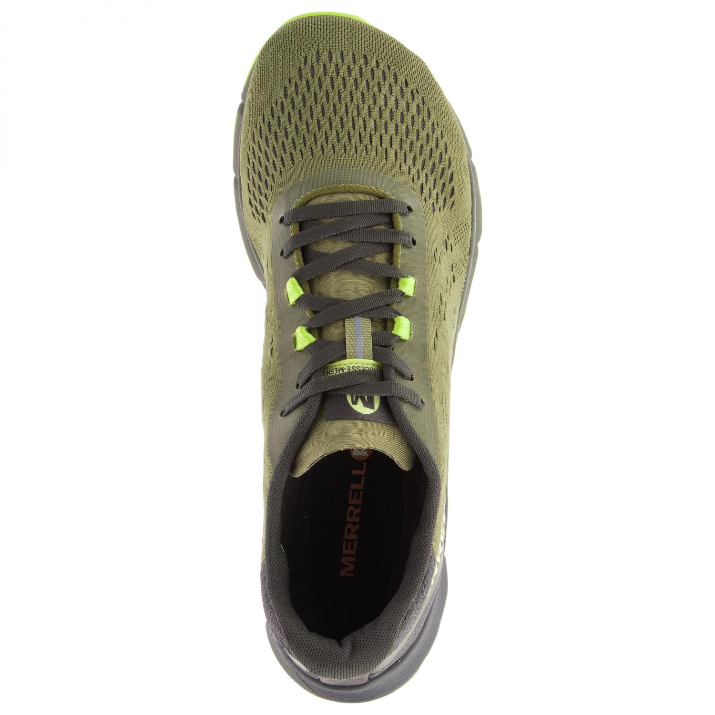 6cc6f63a31 Merrell - Bare Access Flex 2 E-Mesh - Trail running shoes - Olive | 43,5  (EU)