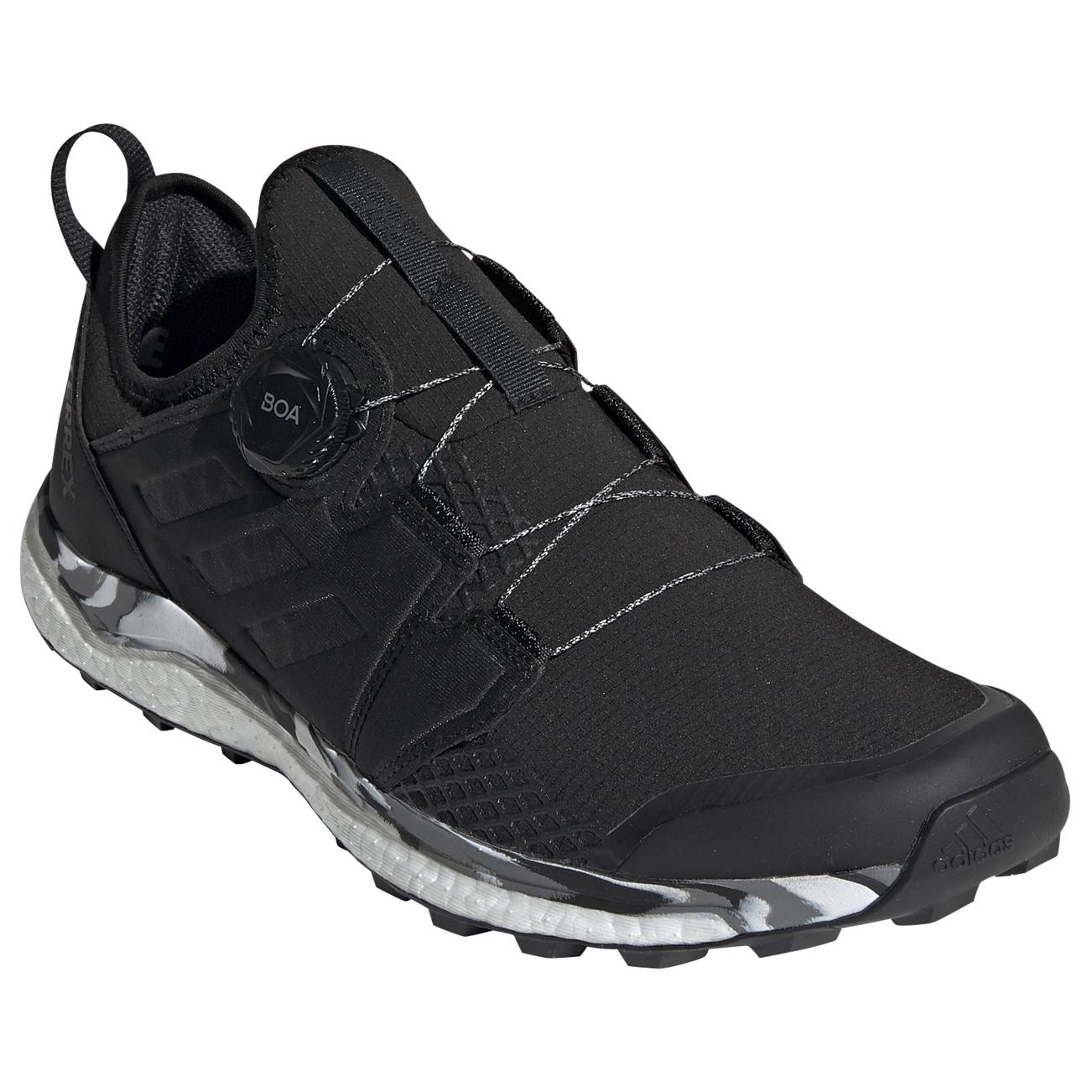 adidas Terrex Agravic Boa Trailrunningschuhe Core Black Core Black Grey One | 9 (UK)