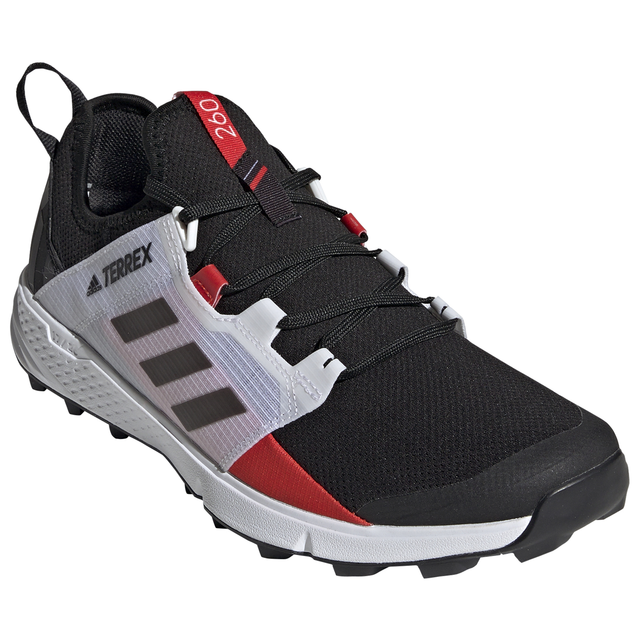 adidas Terrex Agravic Speed + Chaussures de trail Core Black Non Dyed Carbon | 8 (UK)