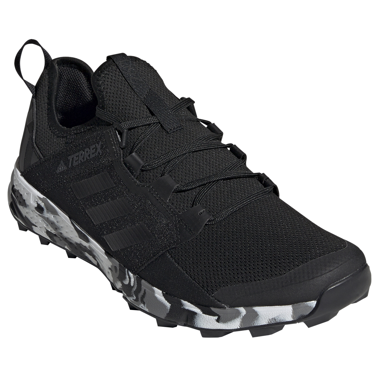 adidas Terrex Agravic Speed + Trail running shoes Core Black Non Dyed Carbon | 12 (UK)
