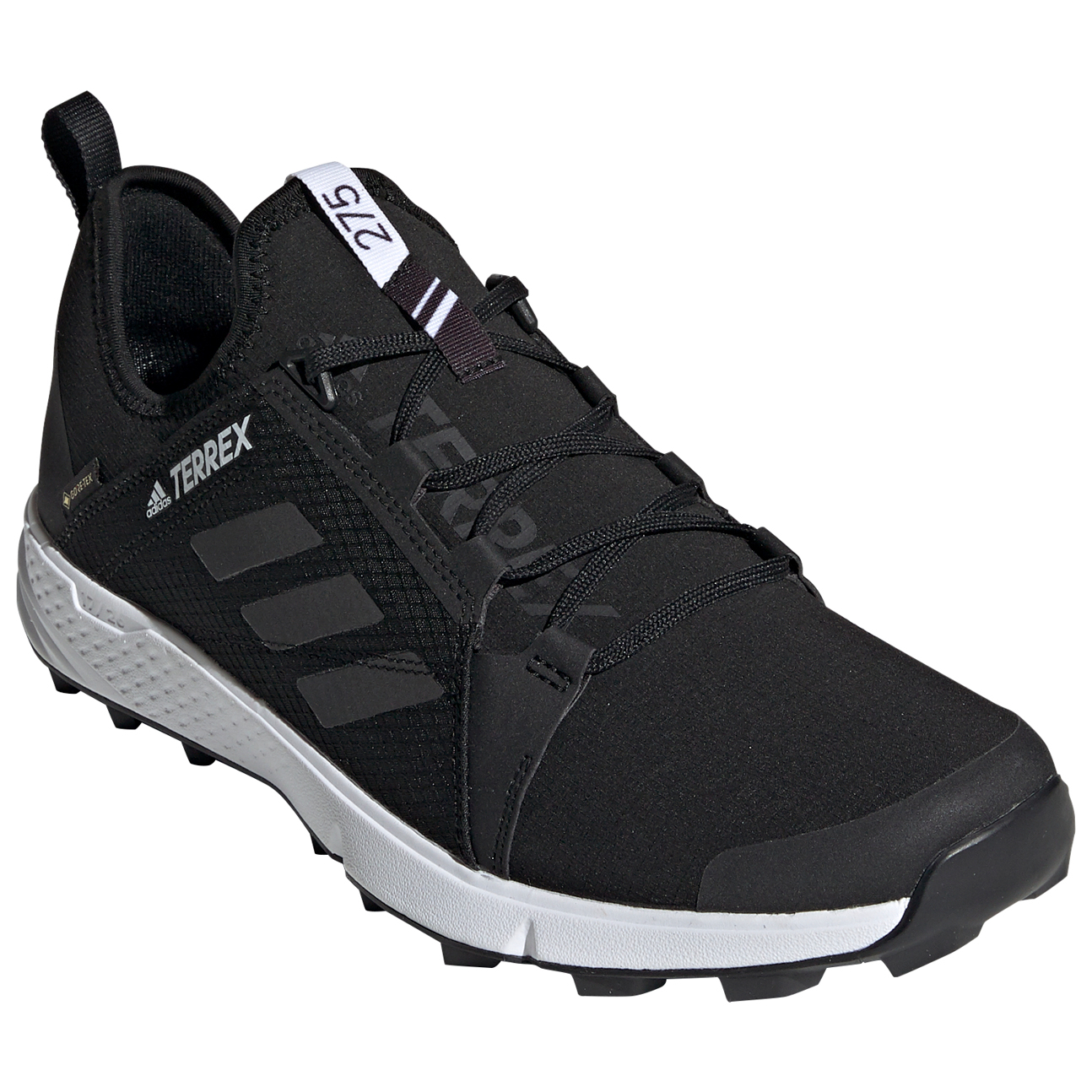 adidas Terrex Agravic Speed GTX Trailrunningschuhe Onix Grey Two Solar Orange | 7,5 (UK)