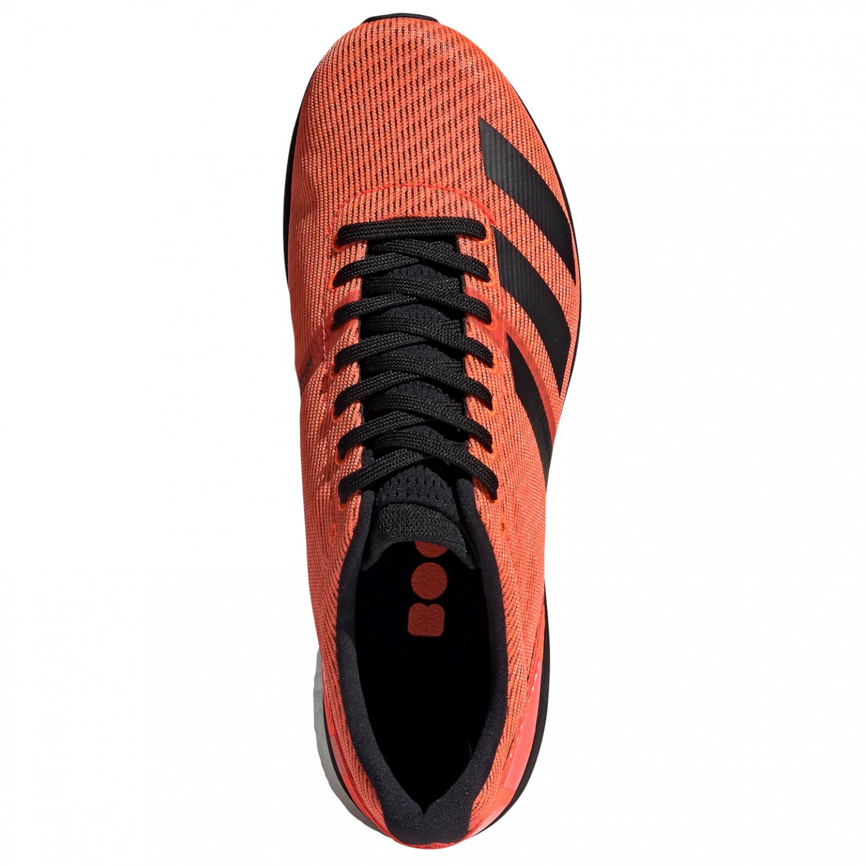 adidas AdiZero Boston 8 Runningschoenen Signal Coral Core Black Ftwr White | 7,5 (UK)