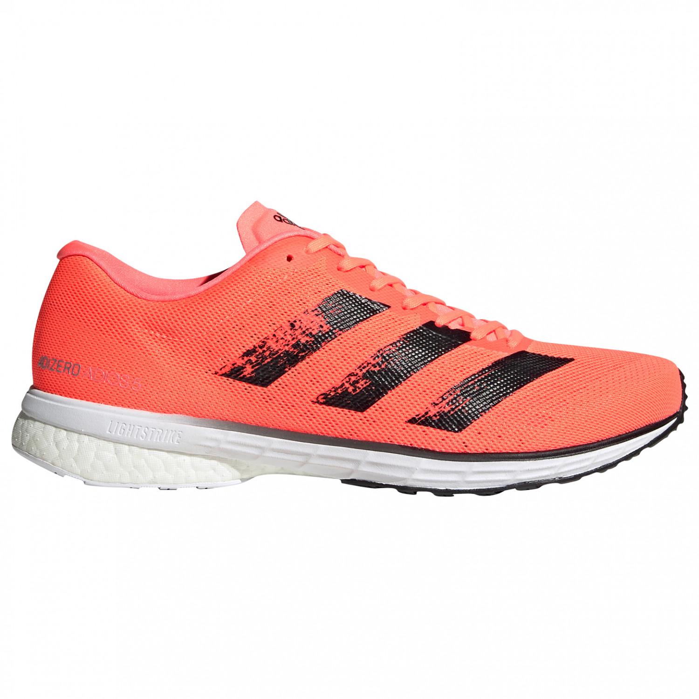 adidas - Adizero Adios 5 - Runningschoenen - Signal Coral / Core Black /  Ftwr White | 7,5 (UK)