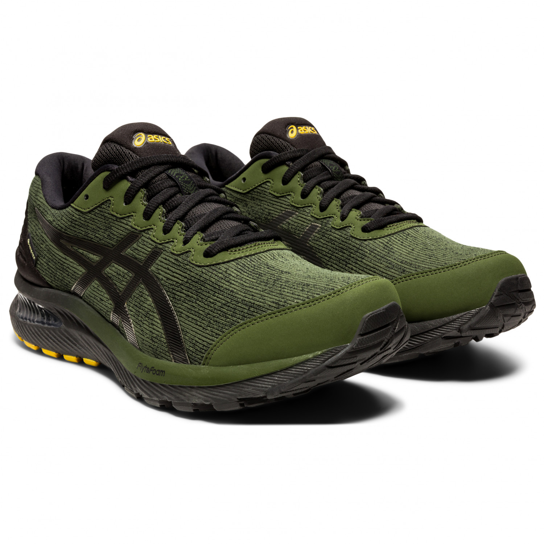 Asics - Gel-Cumulus 22 GTX - Running shoes - Smog Green / Black | 10,5 (US)