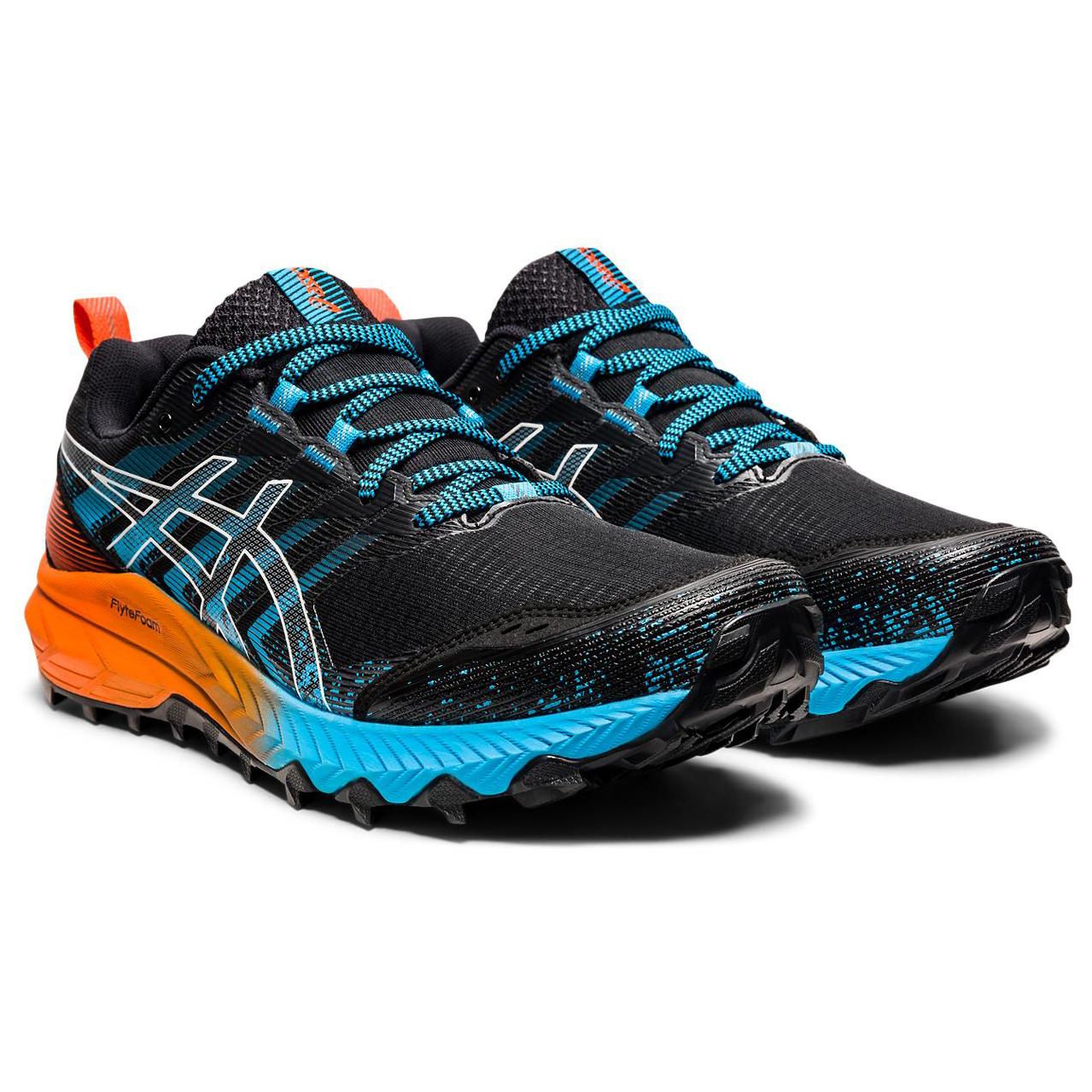 Asics - Gel-Trabuco 9 - Trail running shoes - Black / White   8 (US)