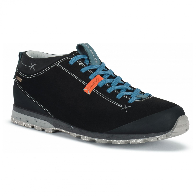 AKU - Bellamont Suede GTX - Sneaker Black / Light Blue