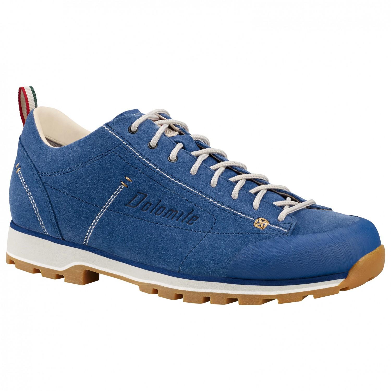 Dolomite - Cinquantaquattro Low - Sneaker Cobalt Blue / Canapa Beige