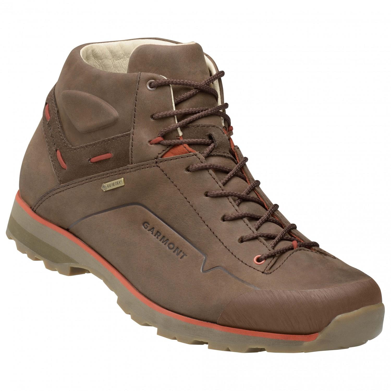 Garmont - Miguasha Nubuck GTX - Sneaker Dark Brown / Dark Orange