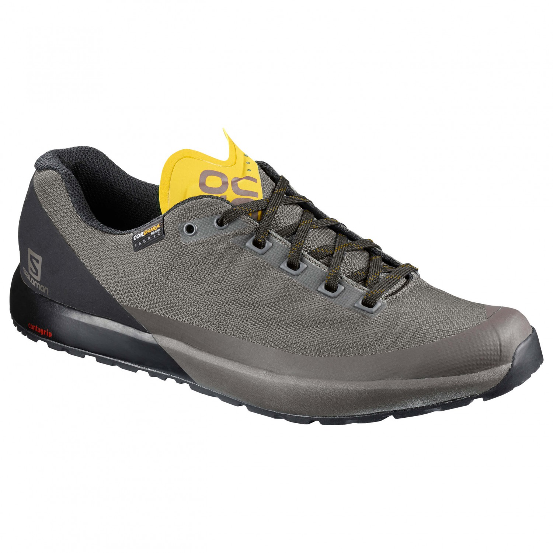 Salomon ACRO - Hiking shoes - bungee cord/beluga/green sulphur qGPOhgMs