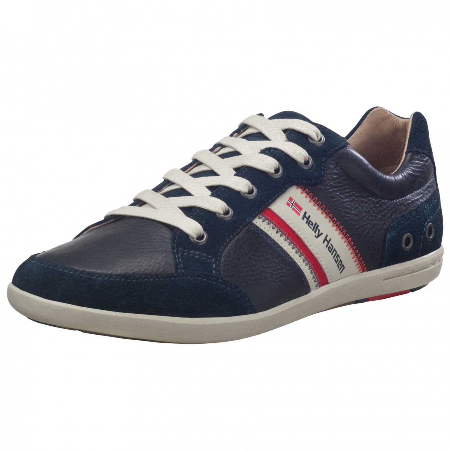 Helly Hansen - Kordel Leather - Sneaker Navy / Natura / Sperry Gum