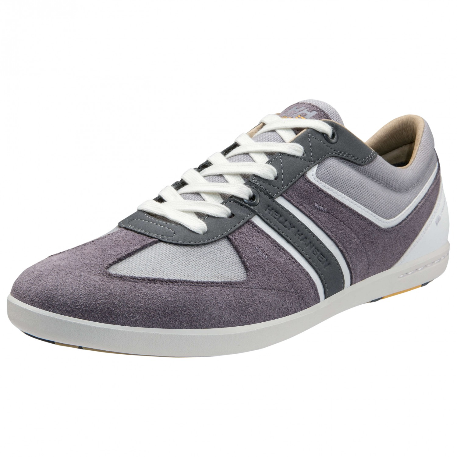 ... Helly Hansen - Crewline Marina - Sneaker Excalibur Off  White Grey Charcoal  d584c66120b