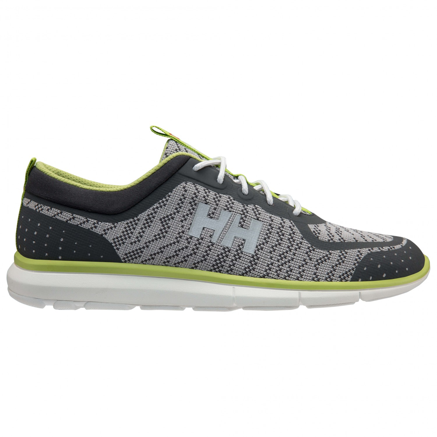 Helly Hansen - HP Shoreline F-1 - Sneaker White/Mid Grey/New Light Grey/Bright Chartreuse
