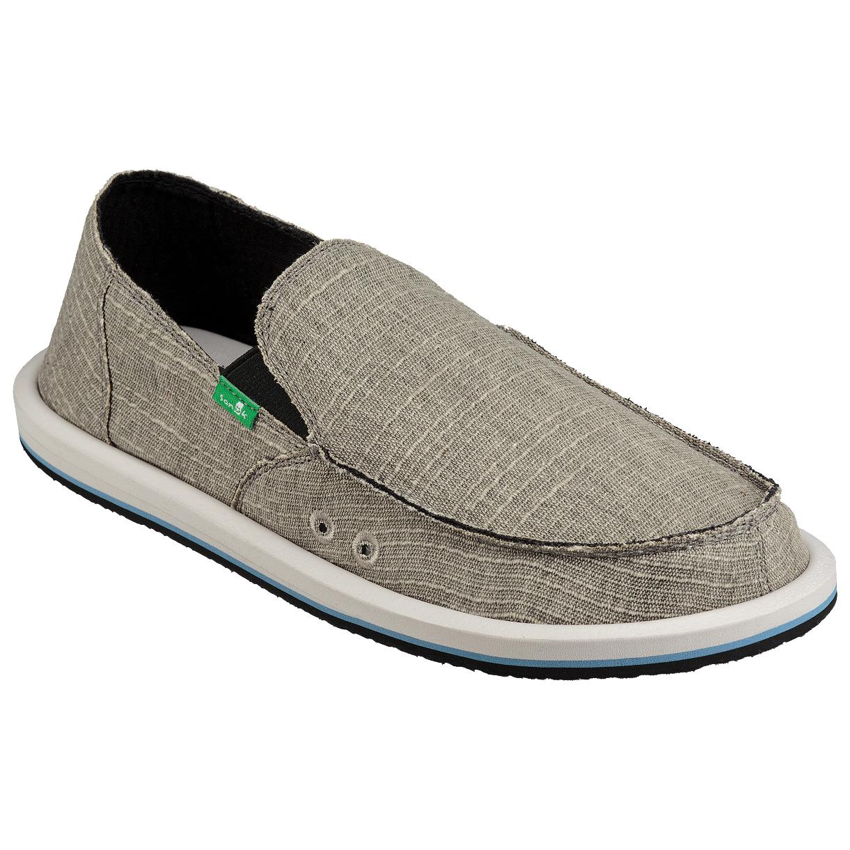 Sanuk - Vagabond Grain Slub - Sneaker Grey