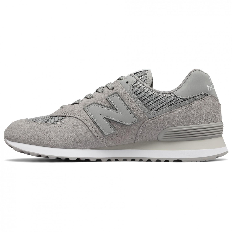 new balance 574 leather uomo