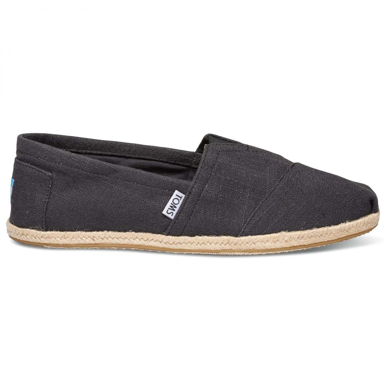 brand new 14bcd 38bcb TOMS - Alpargata Rope Espadrille - Sneaker - Black Washed | 8 (US)