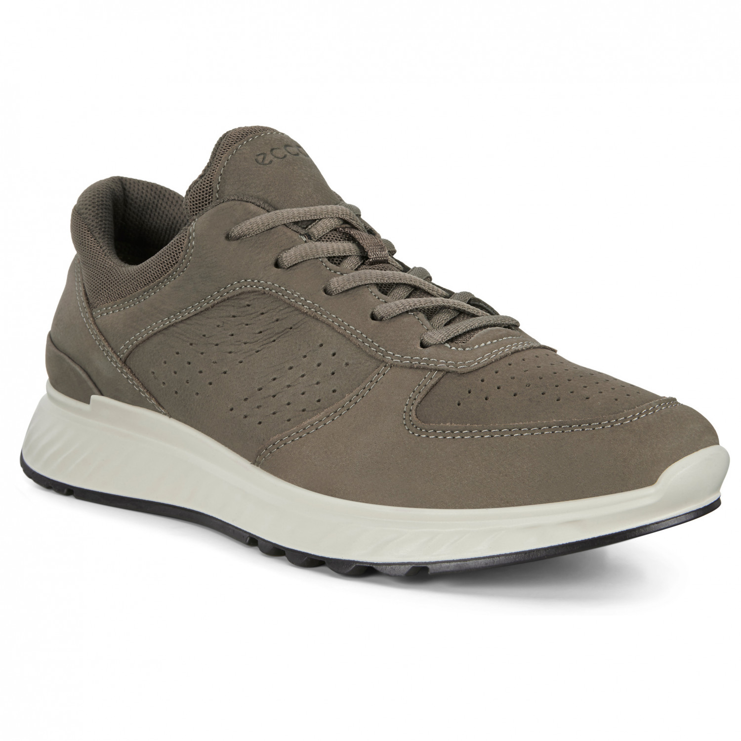 Ecco Exostride Leather Sneaker Dark Clay | 40 (EU)