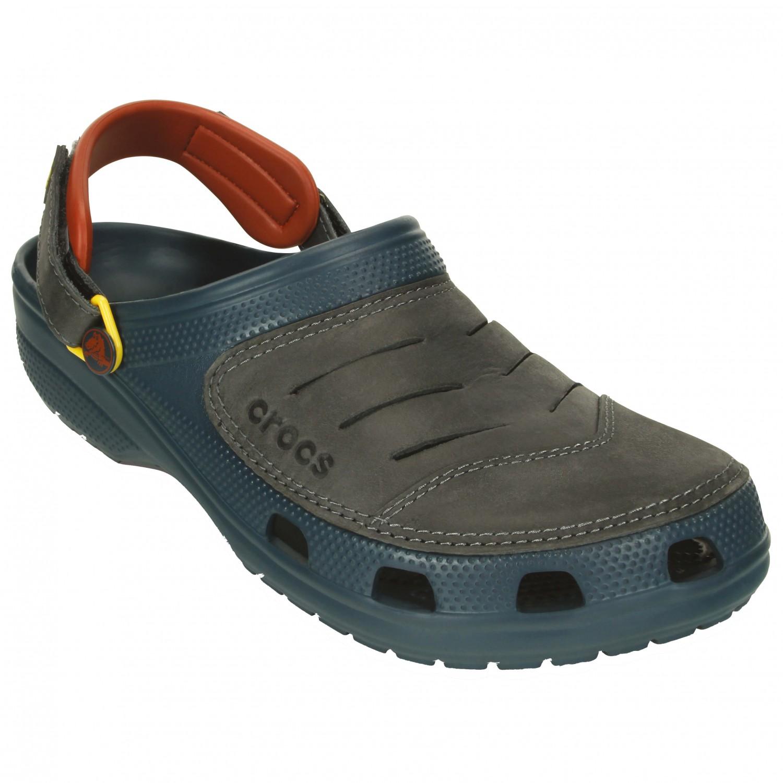 crocs mit leder