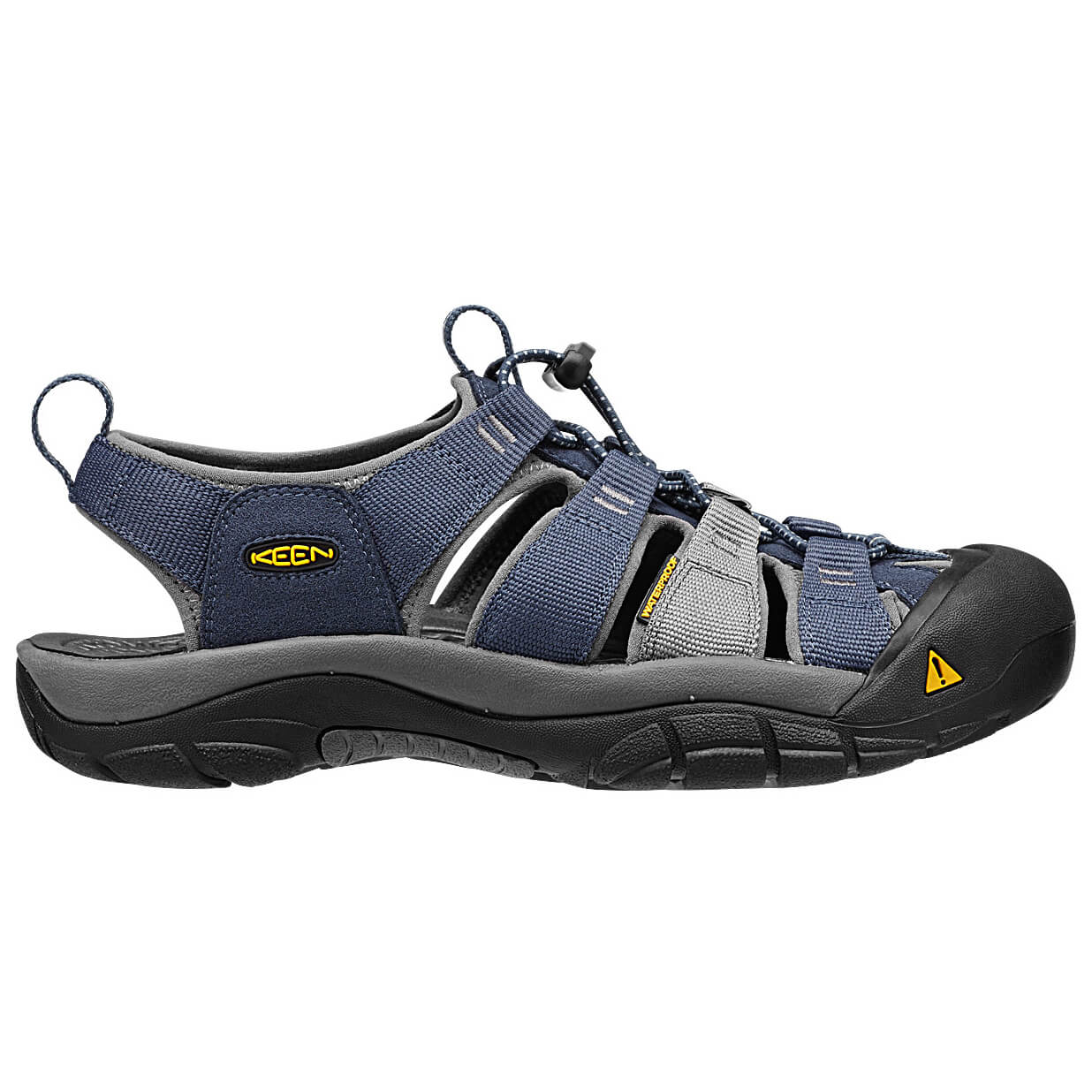 Keen - Men Newport H2 - Outdoorsandalen Midnight Navy / Neutral Gray