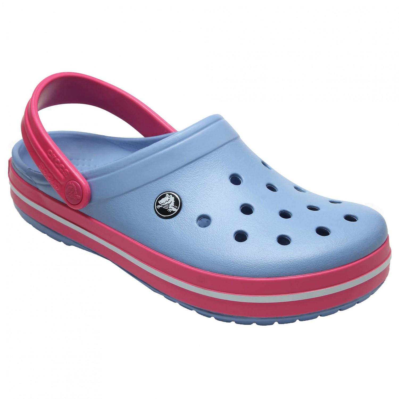 Crocs - Crocband Chambray Blue / Paradise Pink