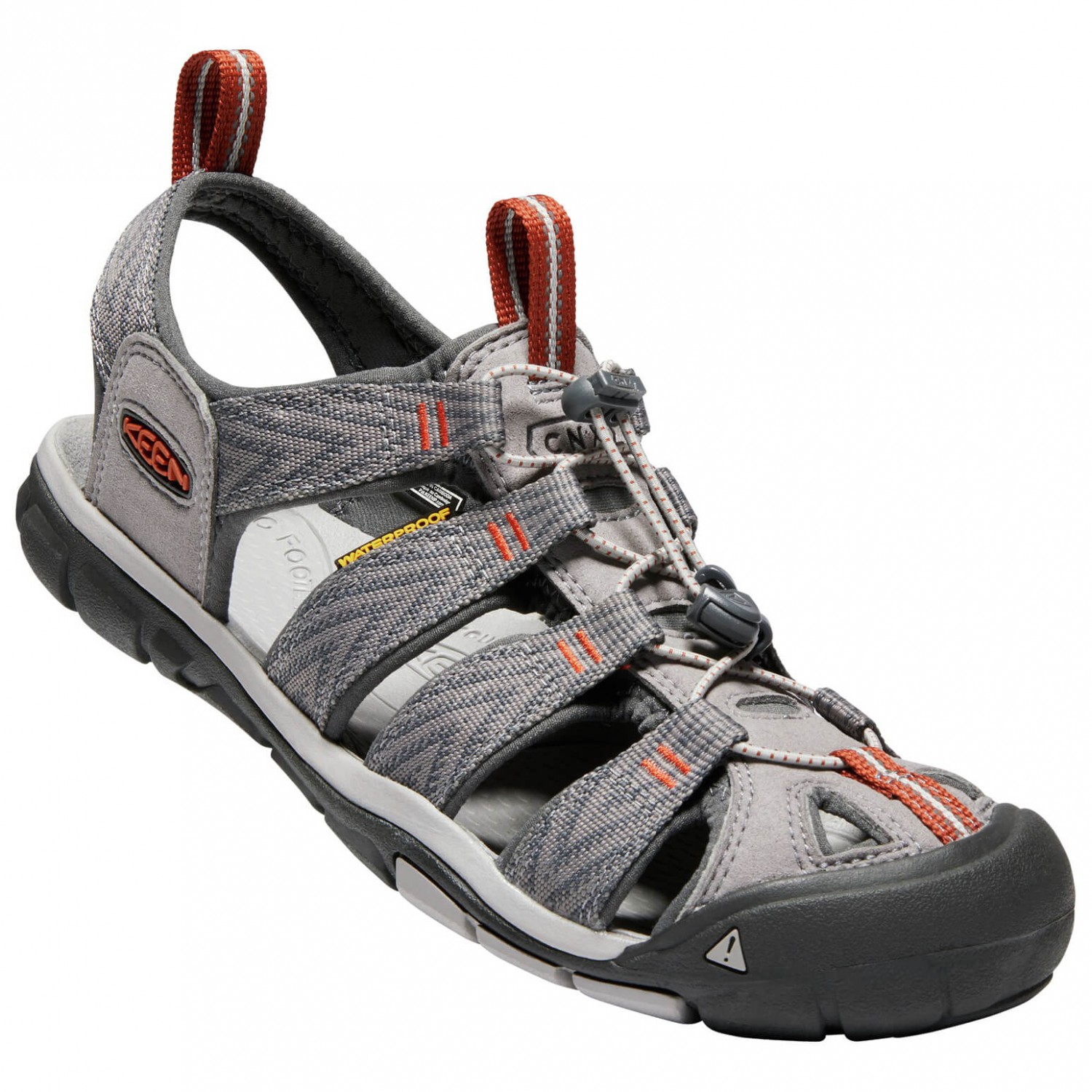 new products d920a f5cf5 Keen - Clearwater CNX - Sandalen - Black / Gargoyle | 8,5 (US)