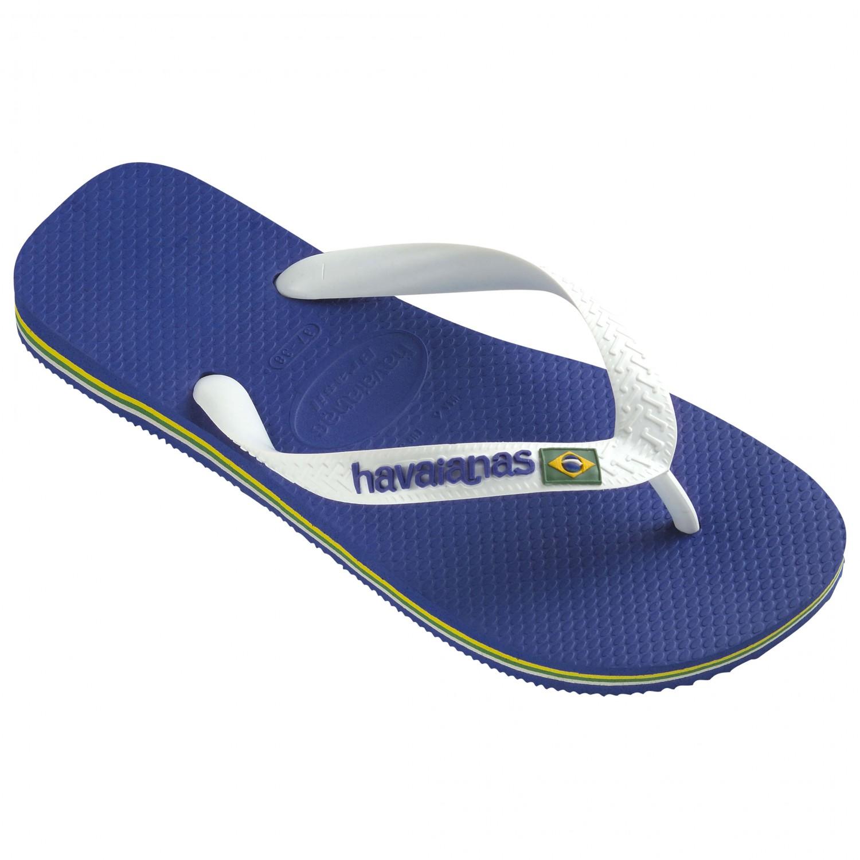 Havaianas Brasil Logo Schuhe Sandalen Marine Blue Alle Gr en