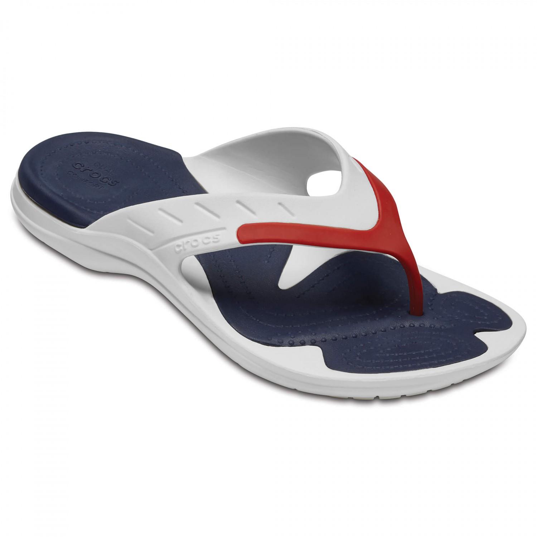 Crocs - Modi Sport Flip - Outdoorsandalen White / Navy / Pepper