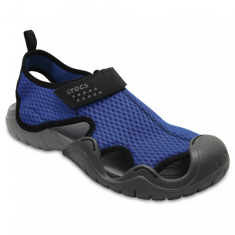Crocs - Swiftwater Sandal - Outdoorsandalen Blue Jean / Slate Grey