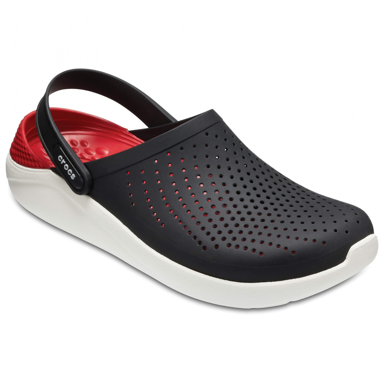 Crocs - LiteRide Clog - Sandalen Black / White