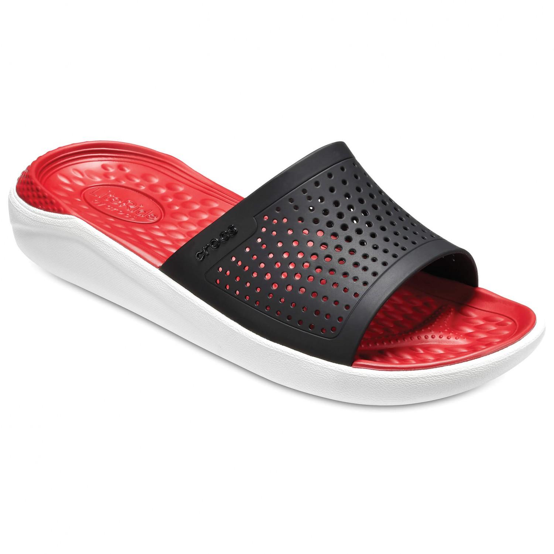Crocs - LiteRide Slide - Sandalen Black / White
