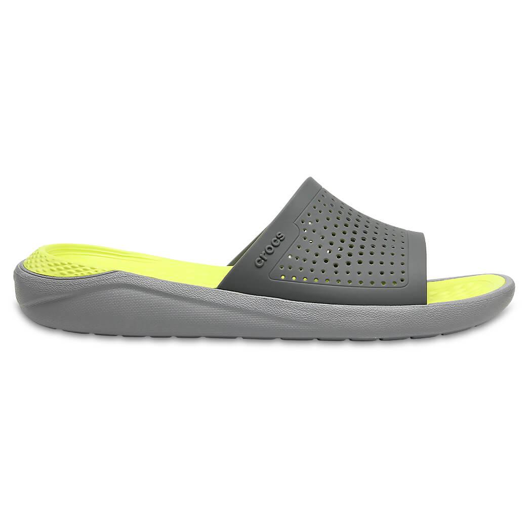 Crocs - LiteRide Slide - Sandalen Gr M6 / W8 rot sUDpQ