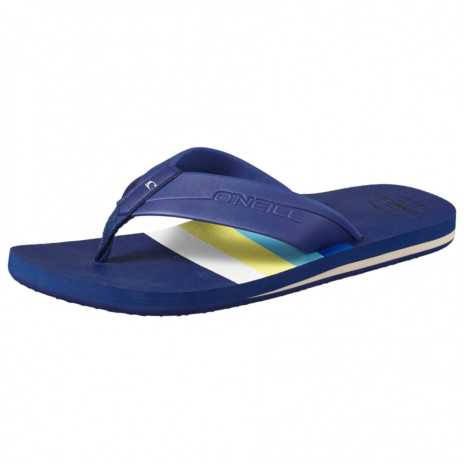 O'Neill - Imprint Pattern Sandals - Sandalen Blue All Over Print With Red