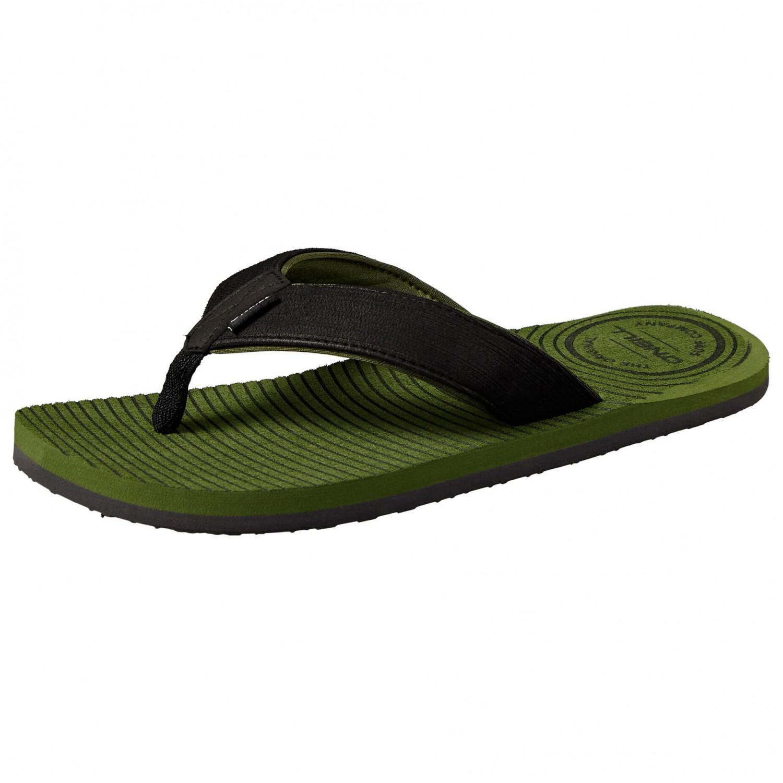 O'Neill - Koosh Slide Sandals - Sandalen Bronze Green