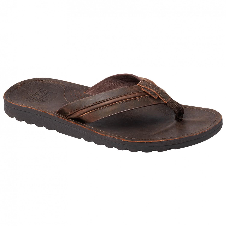 Reef - Voyage Lux Leather - Sandalen Dark Brown