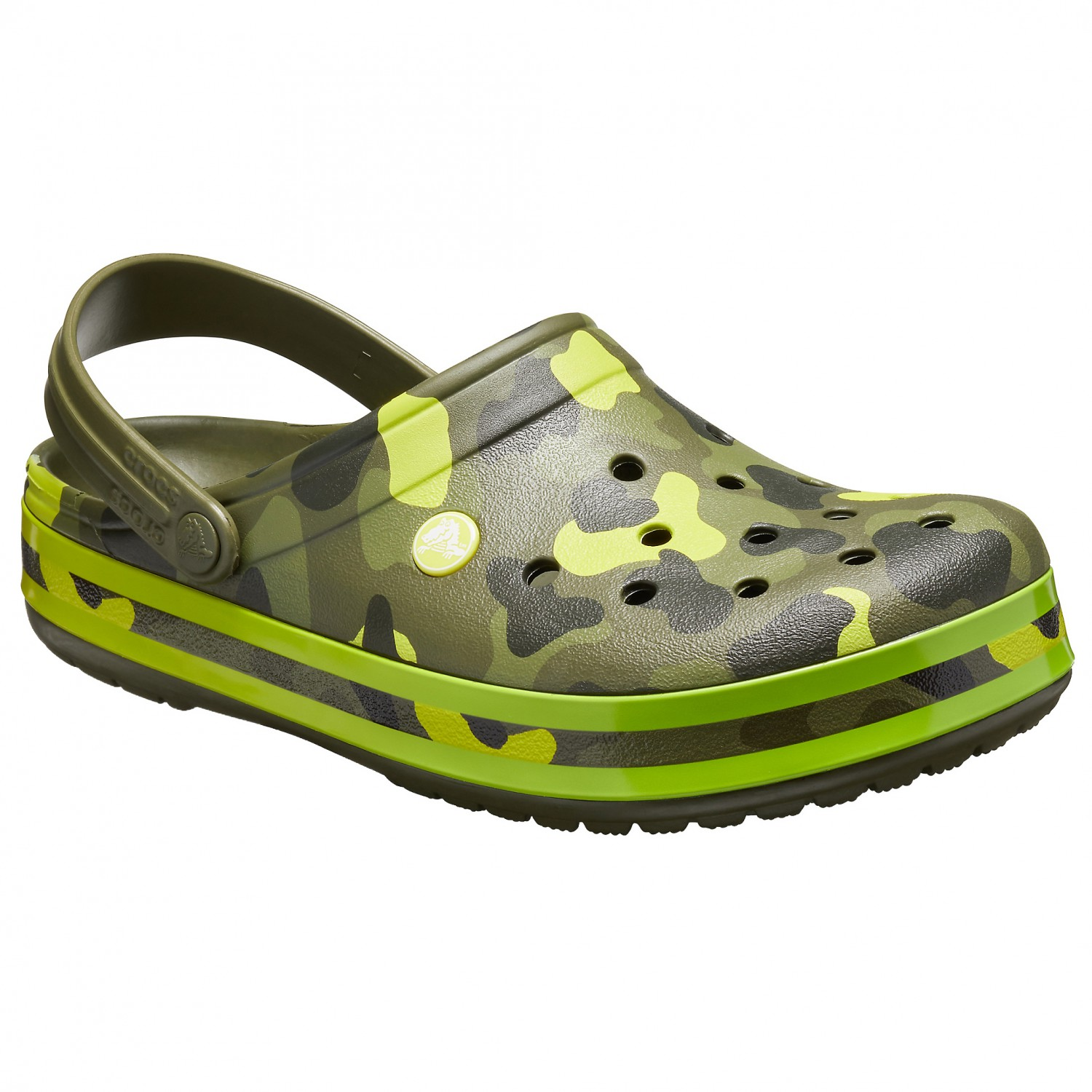 quite nice 85255 73fe9 Crocs - Crocband Seasonal Graphic Clog - Sandalen - Army Green / Melon | M8  / W10 (US)