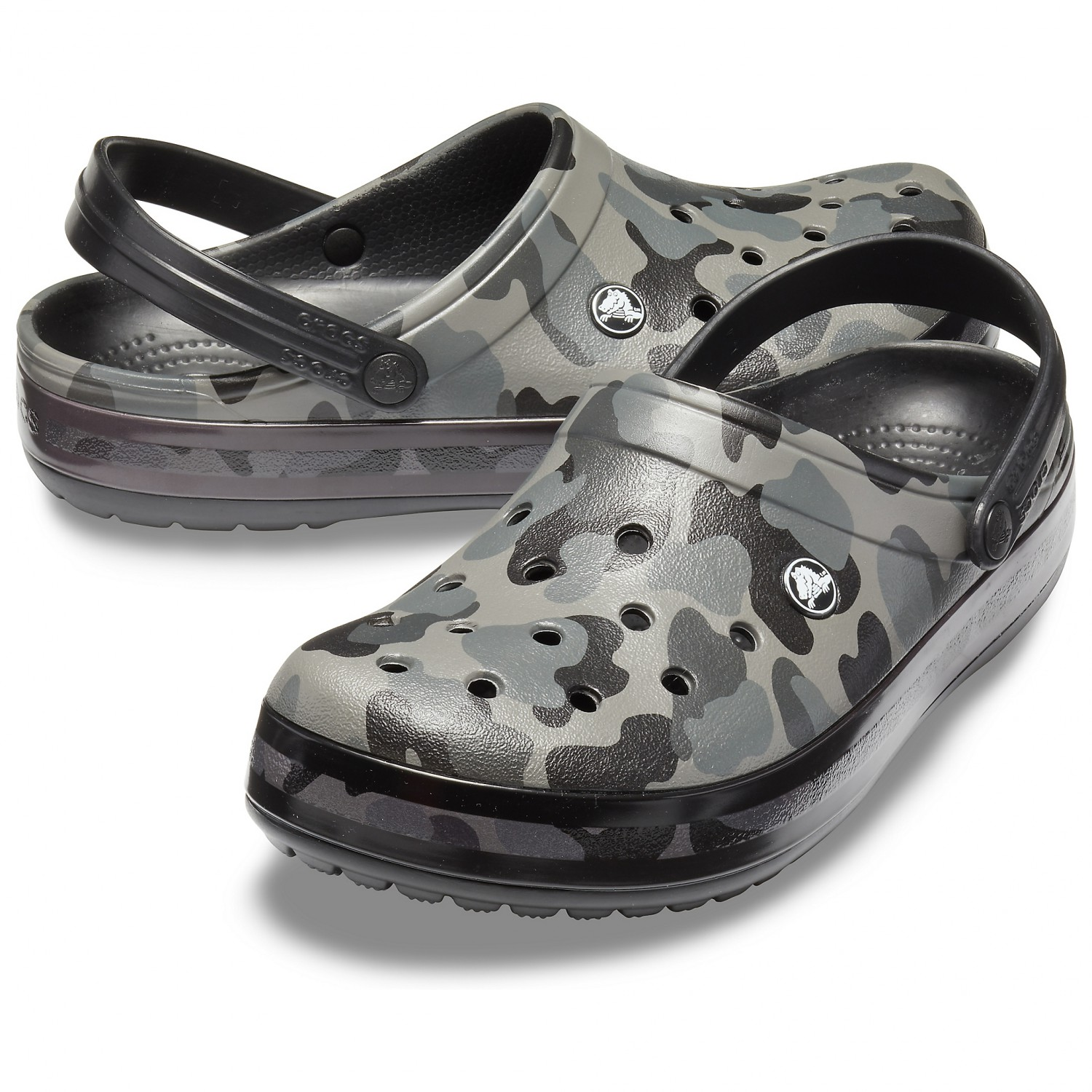 quite nice 5dbfa 8faaf Crocs - Crocband Seasonal Graphic Clog - Sandalen - Army Green / Melon | M8  / W10 (US)