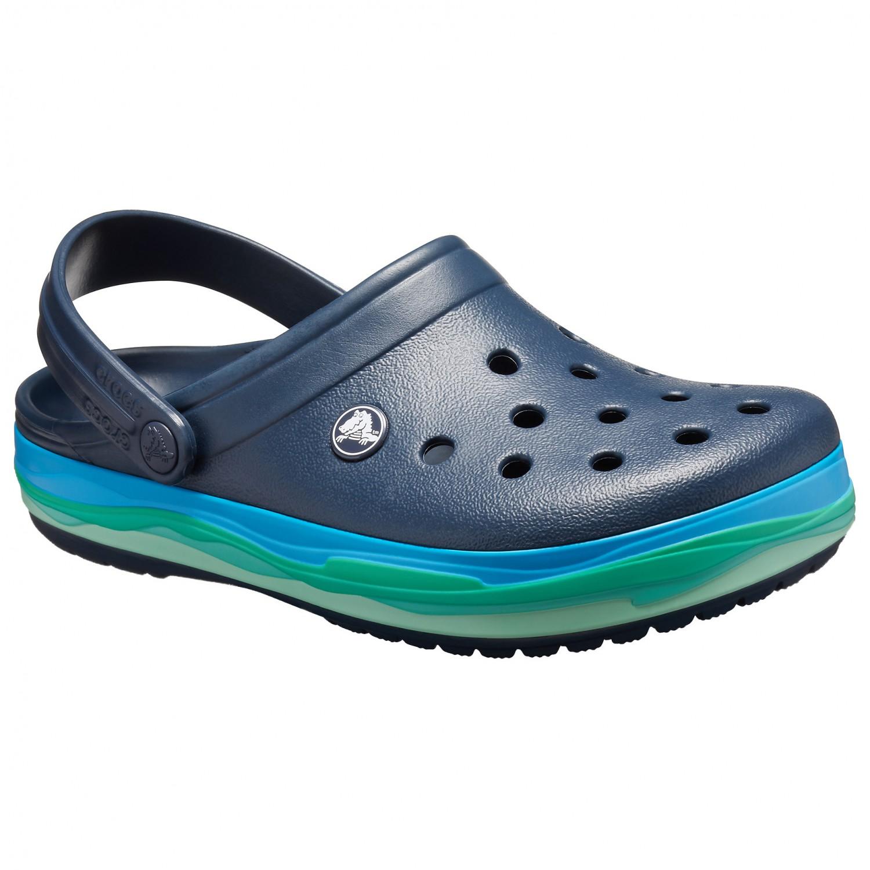 b58676e04ef58c Crocs Crocband Wavy Band Clog - Sandalen online kaufen