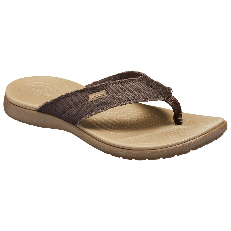 Crocs Santa Cruz Canvas Flip - Sandals