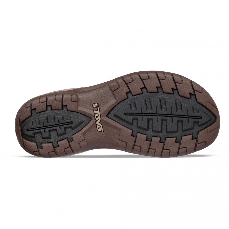 Teva Tanway Leather Sandalen Chocolate Brown | 7 (US)