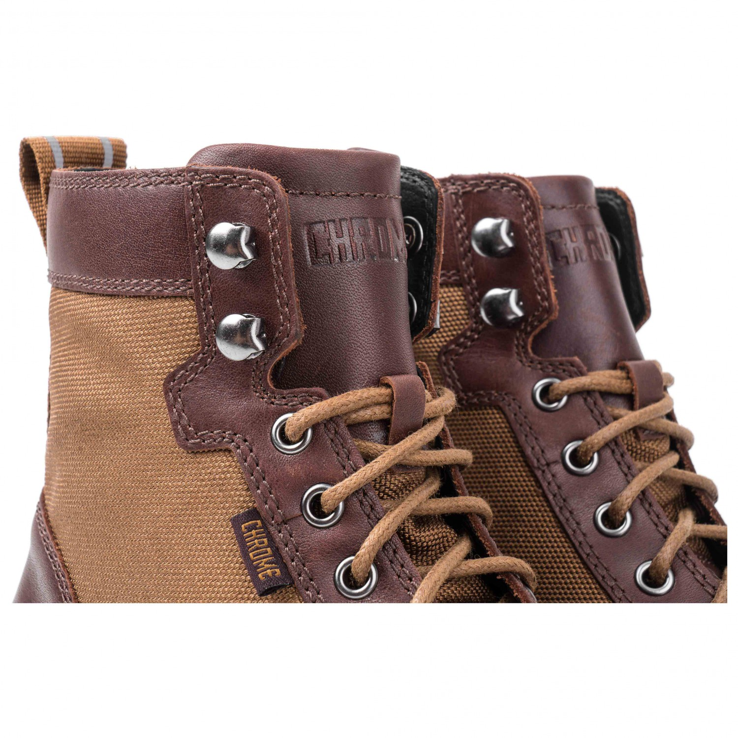 Chrome - 503 Combat Boot - Chaussures casual taille 12, amber