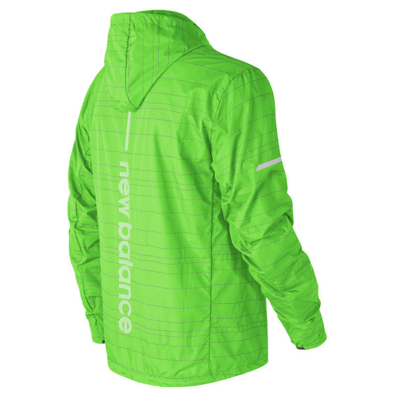 New Balance Lite Packable Reflectiv J - Laufjacke Herren ...