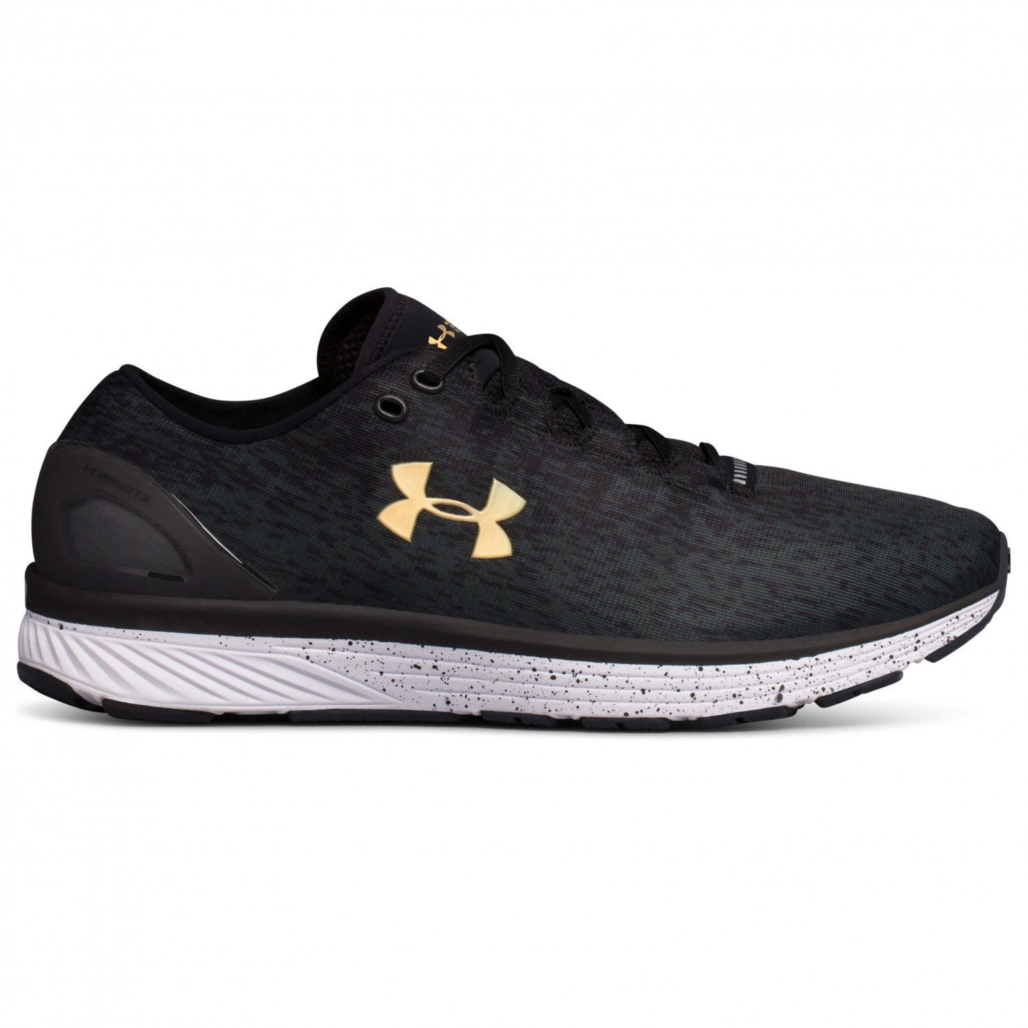 Under Armour - Charged Bandit 3 Ombre - Fitnessschuh Black / Anthracite / High / Vis Yellow